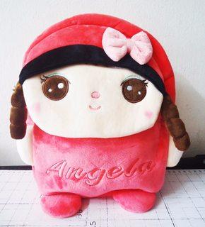 MXBL-031 Balo vải nhung hình búp bê Hàn Quốc