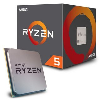 CPU AMD Ryzen 5 1600  3.2 GHz (3.6 GHz with boost) / 16MB / 6 cores 12 threads