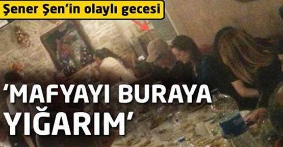 Gazetecilerin Şener Şen'in fotoğraflarını çekmek istemesi, gittiği restoranda büyük olay yarattı.