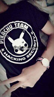 Áo Hacking PiKaChu Team