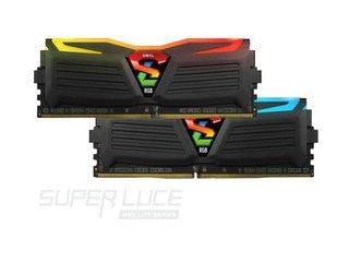 RAM GEIL SUPER LUCE RGB BUS 2400 DDR4 2X8G