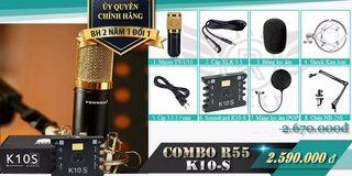COMBO R55 K10S - Soundcard XOX K10S