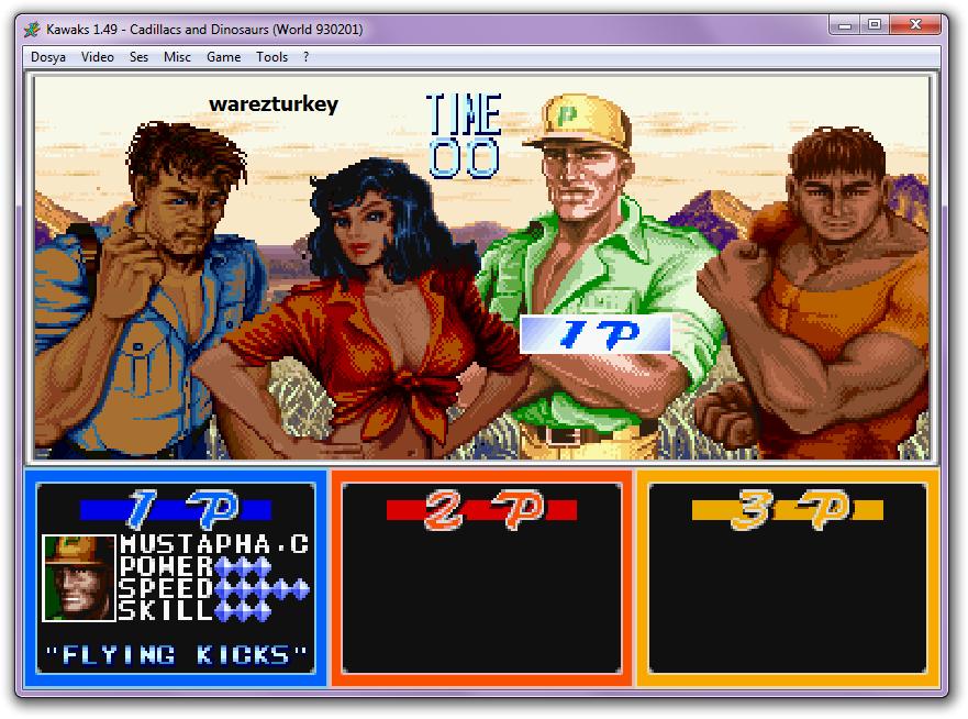 Eski Atari Oyunları - Final Fight (Hagar) - Mustapha ve Diğerleri - Full indir
