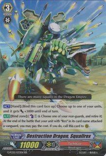 Destruction Dragon, Squallrex - G-FC02/033EN - RR