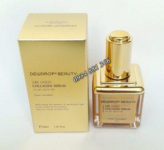 Serum chống nhăn Dewdrop Beauty 24k Collagen