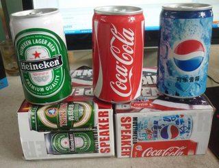 Loa Dùng Thẻ Heniken/Pepsi/Coca