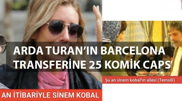 Milli futbolcumuz Arda Turan 41 milyon euro karşılığında Avrupa'nın devi Barcelona'ya transfer oldu ve transfer sonrasında yapılan capsler sosyal medyada rekor kırdı.