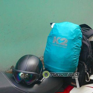 Áo mưa balo K2 23l