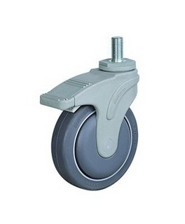 Bánh xe đẩy y tế STO trục ren