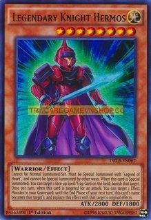 DRL3-EN062 Legendary Knight Hermos Ultra Rare