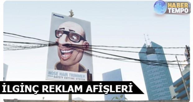 İlginç reklam afişleri
