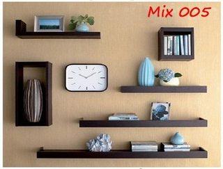 Bộ kệ Mix 005 - gồm 6 món bố cục tuyệt đẹp