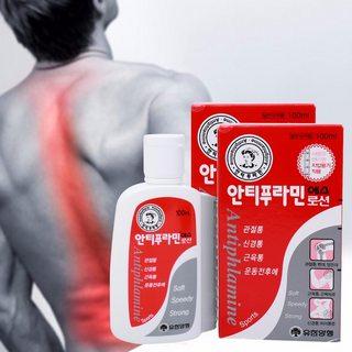 Dầu xoa bóp giảm đau Antiphlamine Lotion 100ml Hàn Quốc
