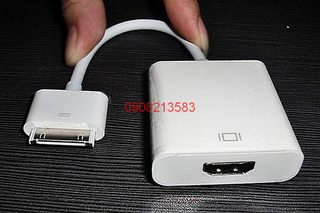 Cáp out từ iphone 4,4s,ipad 3,2 ra HDMI