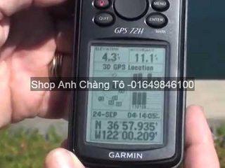 Máy định vị GPS Garmin 72h