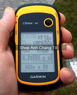 Máy định vị GPS Garmin eTrex 10 cho dân phượt