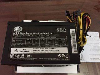 Nguồn CoolerMaster Elite 550W