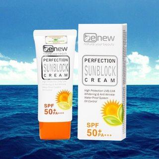 Kem chống nắng Benew Perfection Sunblock Cream