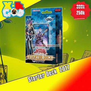 (Trung Thu)Hộp Starter Deck 2017 : Link Strike Bài Yu-Gi-Oh! Chính Hãng tại Việt Nam