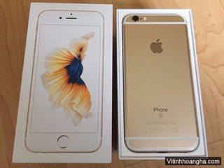 iPhone 6S Gold 64Gb quốc tế zing keng