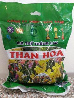 Giá thể trồng Lan Than Hoa