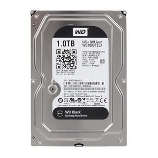WD HDD Black 1TB 7200RPM 64MB