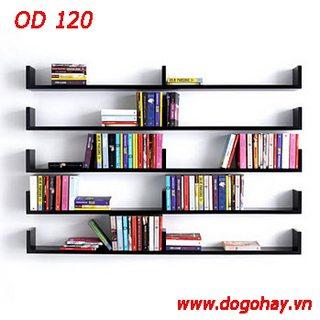 Kệ sách ngang OD 120