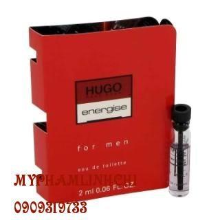 Nước hoa sample Hugo energise for men (2ml)