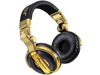 Headphone Pioneer DJ1000 Màu Vàng Chính Hãng