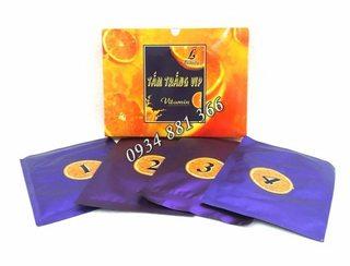 Tắm trắng cam vip vitamin