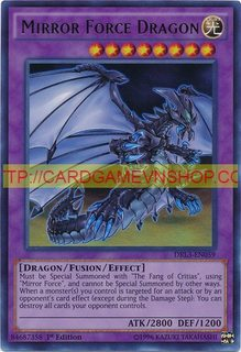 DRL3-EN059 Mirror Force Dragon Ultra Rare