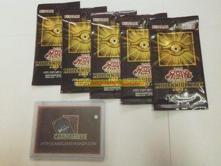 [Combo Khuyến Mãi] x5 Gói Millennium Pack Bài Yu-Gi-Oh! Chính Hãng tại Việt Nam