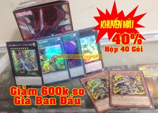 [Siêu Giảm Giá] Hộp Raging Tempest(40 gói) bài Yu-Gi-Oh! Chính Hãng tại Việt Nam