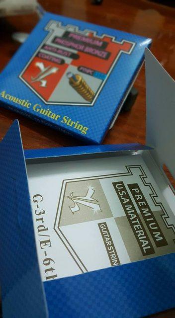 Dây đàn guitar acoustic STRING (Korea made)