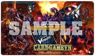 Playmat CGVN 5/2016: Burning Abyss