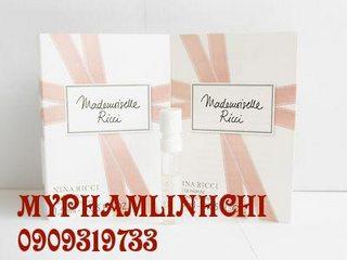 Nước hoa sample Mademoiselle Ricci (1.5ml)