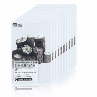 Mặt nạ dưỡng da than hoạt tính Benew Natural Herb Mask Pack Charcoal