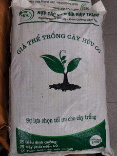 Giá thể trồng cây hữu cơ
