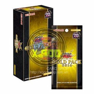 [GP16-JP] Gói Gold Pack 2016 Bài Yu-Gi-Oh! Chính Hãng tại Việt Nam