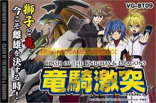[VG-BT09] Gói Clash of the Knights & Dragons Bài Cardfight!! Vanguard Chính Hãng tại Việt Nam