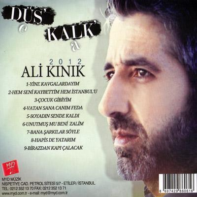 Ali Kınık - Düş'e Kalk'a (2012) Full Albüm Mp3 indir