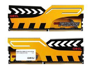 RAM GEIL EVO FORZA BUS 2400 16GB (2X8) DDR4 BUS 2400