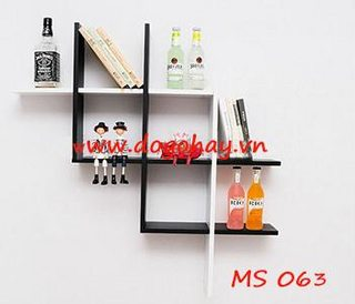 Kệ gỗ trang trí mã MS 063