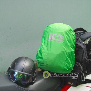Áo mưa balo K2 22l (xanh lá)