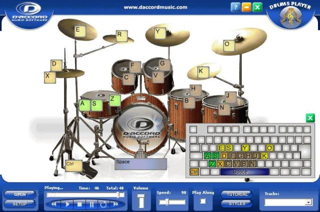 D'Accord Drums Player 1 Full