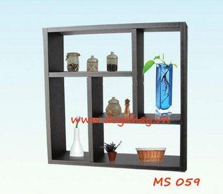 Kệ treo tường vuông mã MS 059