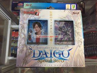 [VG-G-DG01] Hộp DAIGO Special Set G Bài Yugioh, Cardfight!! Vanguard Chính Hãng tại Việt Nam