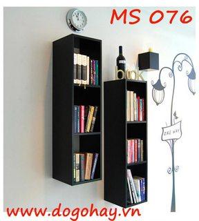 Kệ sách trang trí hình chữ nhật MS 076