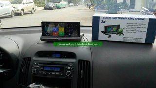 Một số hình ảnh gắn thực tế cam hành trình đa năng N95