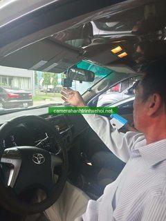 Camera hành trình chính hãng thi công nguyên đội xe cho Linde Gas Việt Nam